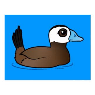Birdorable White-headed Duck Postcard