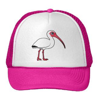 Birdorable White Ibis Trucker Hat