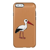 Birdorable White Stork Incipio Feather® Shine iPhone 6 Case