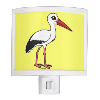 Birdorable White Stork Night Light