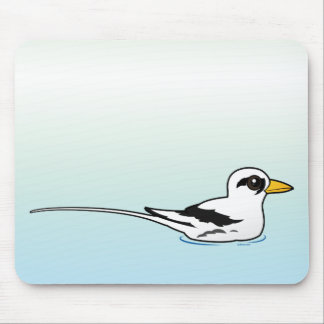 Birdorable White-tailed Tropicbird at rest Mouse Pad