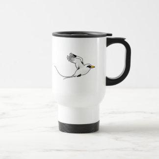 Birdorable White-tailed Tropicbird in flight Mug