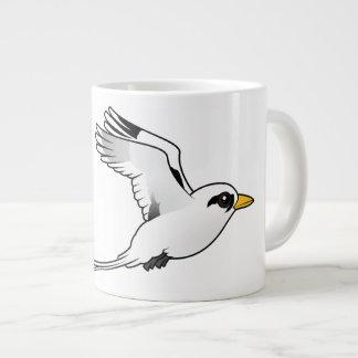 Birdorable White-tailed Tropicbird in flight Extra Large Mug