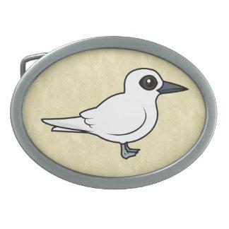 Birdorable White Tern Belt Buckles