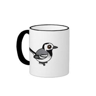 Birdorable White Wagtail Ringer Mug