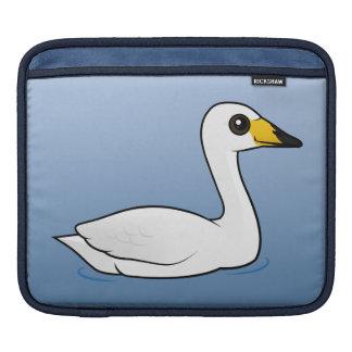 Birdorable Whooper Swan iPad Sleeve