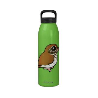 Birdorable Wood Thrush Drinking Bottle