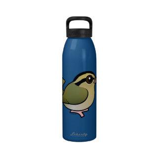 Birdorable Worm-eating Warbler Drinking Bottles