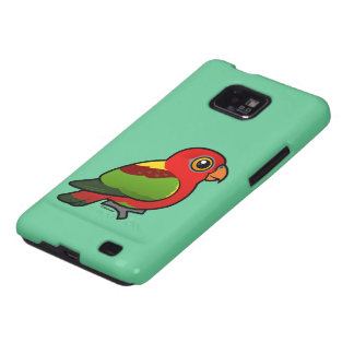 Birdorable Yellow-backed Lory Samsung Galaxy S2 Cover
