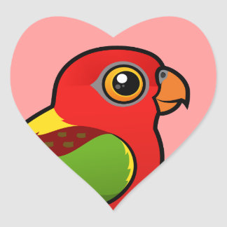 Birdorable Yellow-backed Lory Sticker