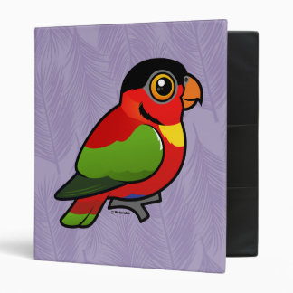 Birdorable Yellow-bibbed Lory Binder