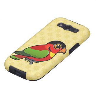 Birdorable Yellow-bibbed Lory Samsung Galaxy SIII Covers