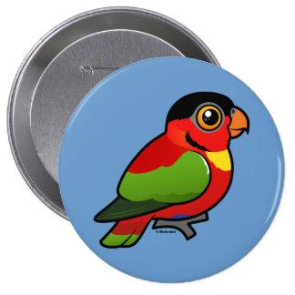 Birdorable Yellow-bibbed Lory Pinback Button