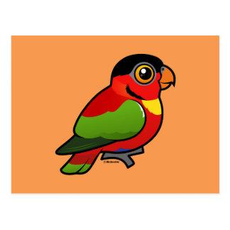 Birdorable Yellow-bibbed Lory Postcard