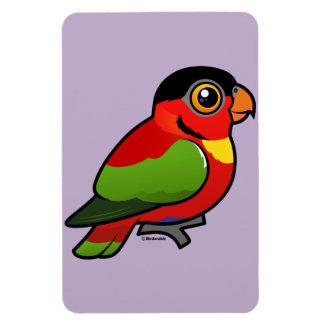 Birdorable Yellow-bibbed Lory Magnet