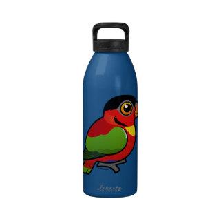 Birdorable Yellow-bibbed Lory Water Bottle