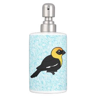 Birdorable Yellow-headed Blackbird Toothbrush Holders