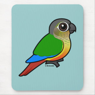 Birdorable Yellow-sided Conure Mouse Pad