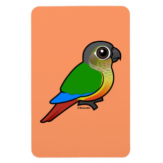 Birdorable Yellow-sided Conure Rectangular Photo Magnet