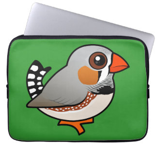 Birdorable Zebra Finch Computer Sleeve