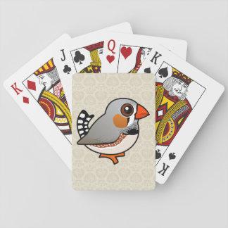Birdorable Zebra Finch Card Deck