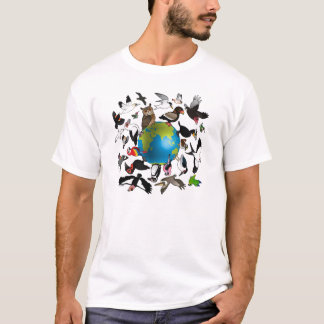 Birdorables Around the Earth T-Shirt