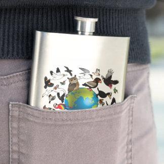 Birdorables Around the World Flask