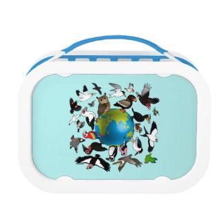 Birdorables Around the World Lunch Box