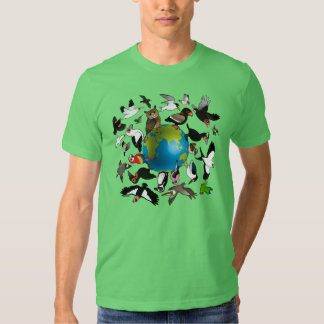 Birdorables Around the World T-Shirt