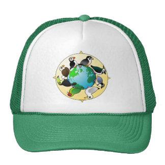 Birdorables del mundo gorras de camionero