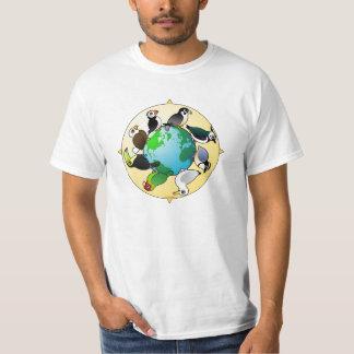 Birdorables del mundo playera
