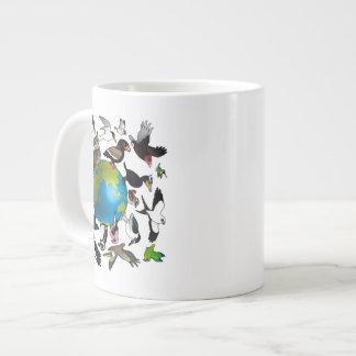 Birdorables en todo el mundo taza grande