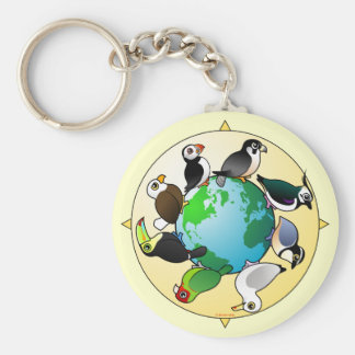 Birdorables of the World Keychain