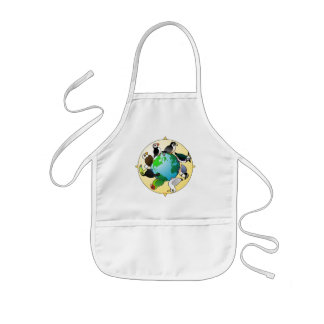 Birdorables of the World Kids' Apron