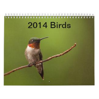 Birds 2014 Calendar
