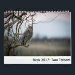 "Birds 2017: Tom Talbott Calendar<br><div class=""desc"">Birds of western North America.</div>"