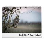 Birds 2017: Tom Talbott Calendar
