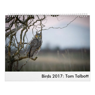Birds 2017: Tom Talbott Calendar