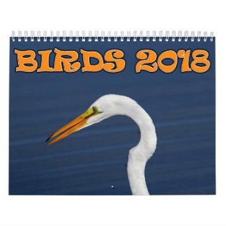Birds 2018 Calendar