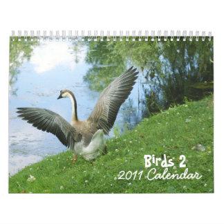 Birds 2 - 2011 Calendar