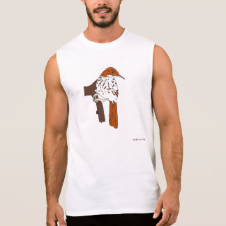 Birds 43 sleeveless shirt
