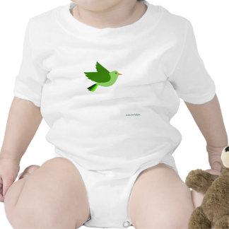 Birds 56 baby bodysuit