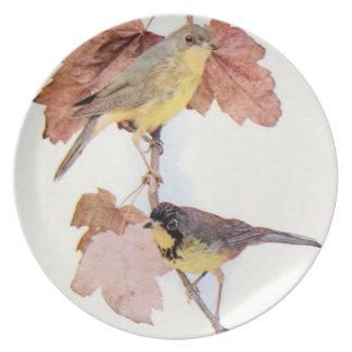 Birds #8 Plate