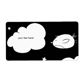 Birds a flapping - shipping address labels