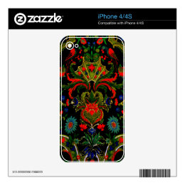 Birds Amour ~ iPhone4/4S Skin Phone Cover Skin For The iPhone 4