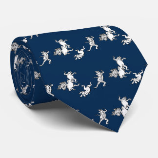 Birds and beasts person caricature, neck tie