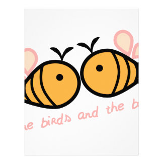 Birds And Bees Letterhead