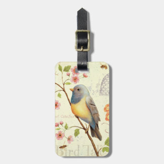 Birds and Bees Luggage Tag