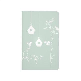 Birds and Bird Boxes Pocket Journal