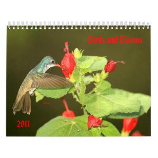Birds and Blooms 2011 Calendar